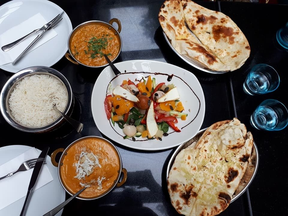 Mouthwatering Food At Bombay Indisches Restaurant In Berlin