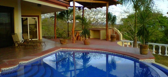 costa rica vacation rentals with chef