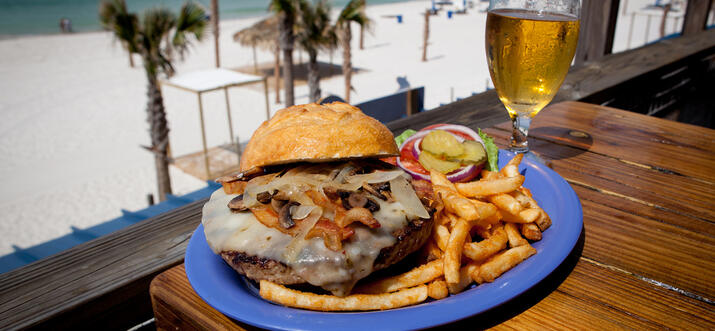 places to eat in panama city beach