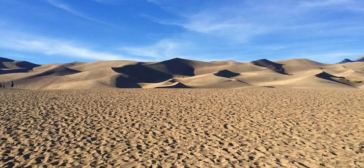 Marvel At The Great Sand Dunes Hidden Deep In the Rocky Mountains