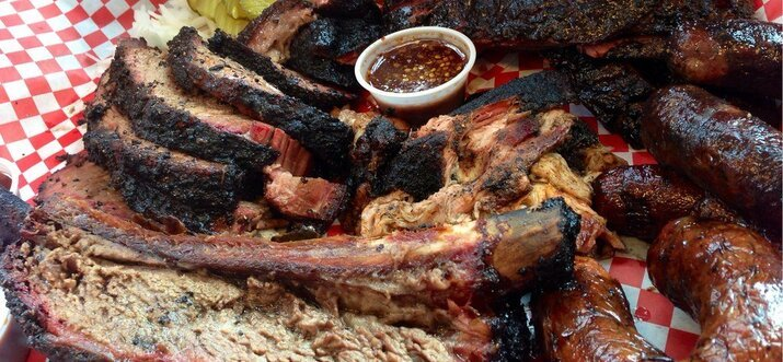 Barbeque In Houston, Texas, USA