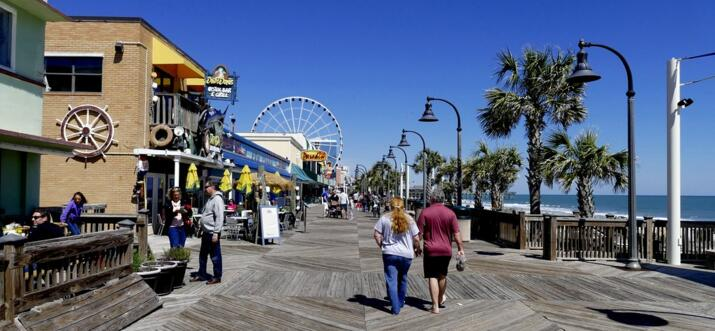 Things To Do On The Myrtle Beach Boardwalk