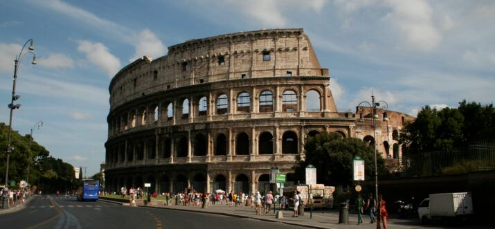 famous buildings in rome