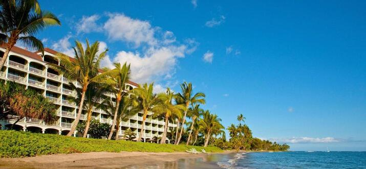 hotels with kitchen in maui