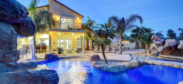 luxury airbnb las vegas