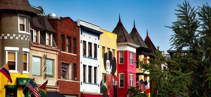 coolest neighborhoods in dc