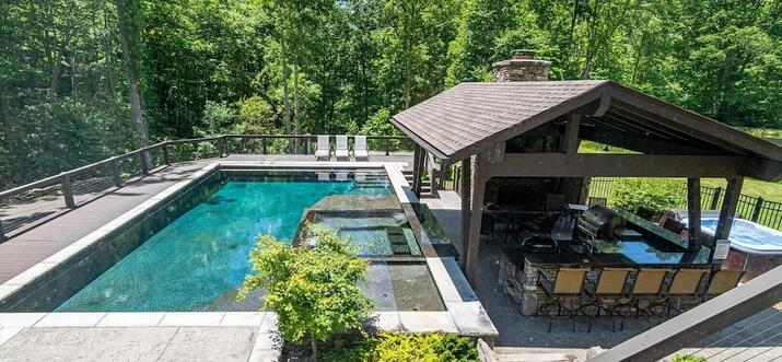 asheville nc vacation rentals with private pool