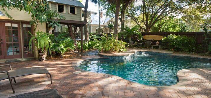 tampa vacation rentals with private pool