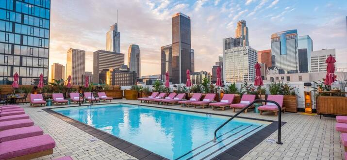 los angeles hotels with views