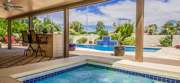 las vegas airbnb with pool
