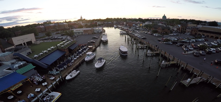 waterfront dining in annapolis