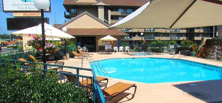 places to stay in pigeon forge