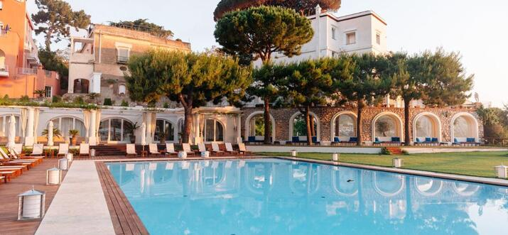 luxury hotels in capri