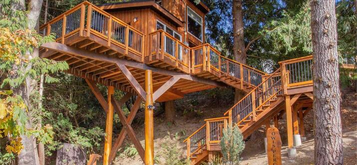 treehouse hotels vancouver island