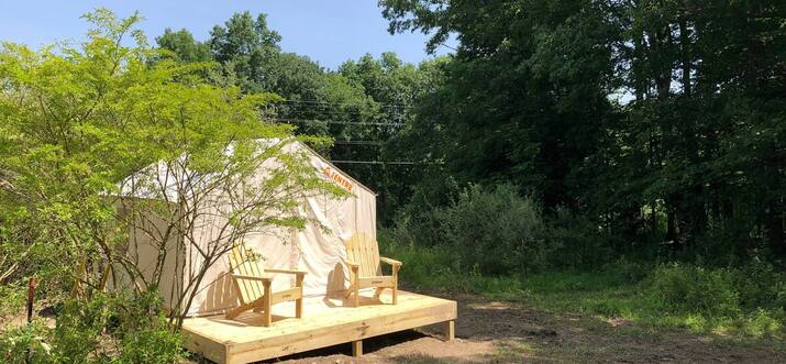glamping in ithaca