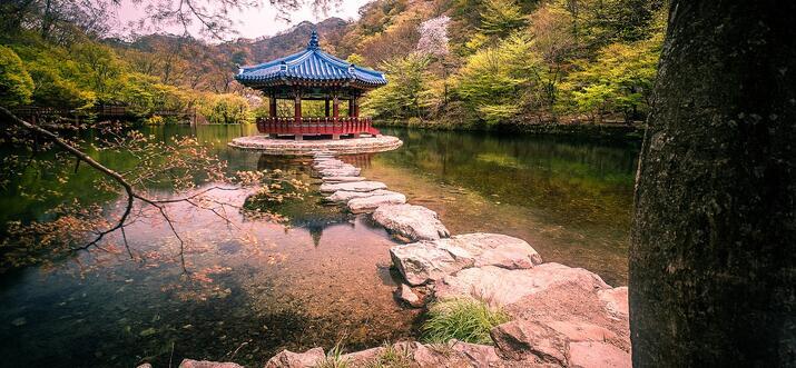 glamping in korea