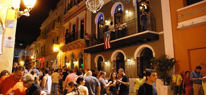 things to do in puerto rico at night