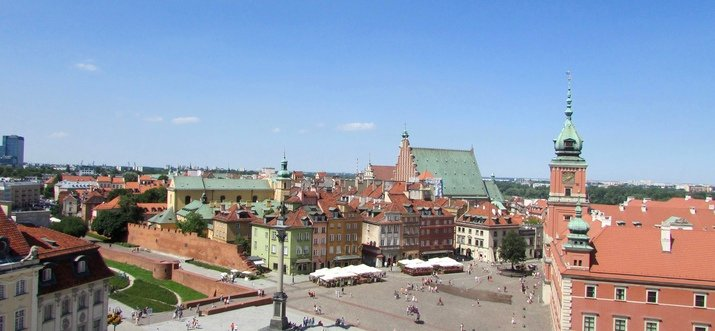Adore The Historical Beauty Of Eastern Europe In Warsaw