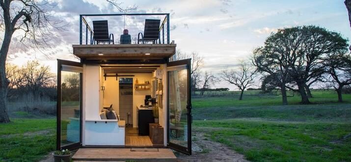 tiny house for rent in texas