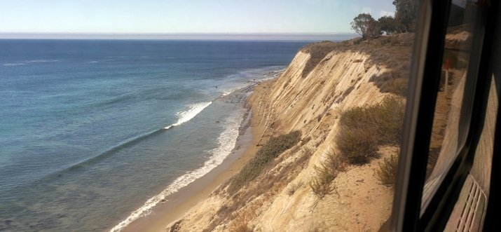 Riding The Train Up The California Coast For A New Perspective