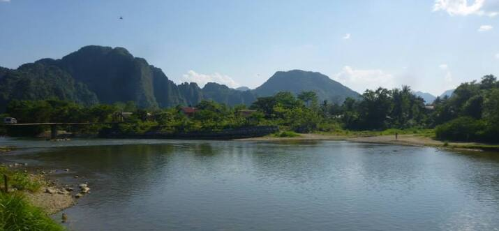 There's More To Vang Vieng, Laos, Than Just The Famous River Tubing!