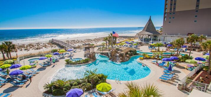 hotel with lazy river in pensacola fl