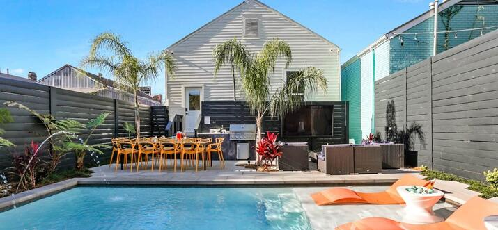 airbnb with pool new orleans
