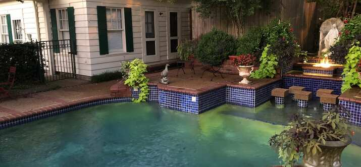 memphis airbnb with pool