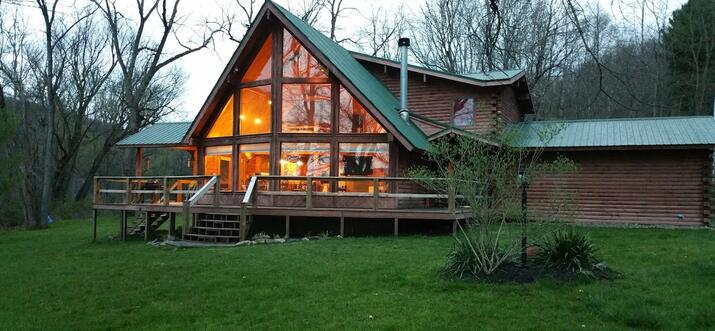 cooks forest cabins with hot tubs