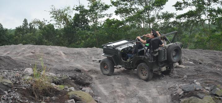 Merapi Lava Tour In Yogyakarta: An Adventure On The Foothill Of Merapi By Off-Road Jeep