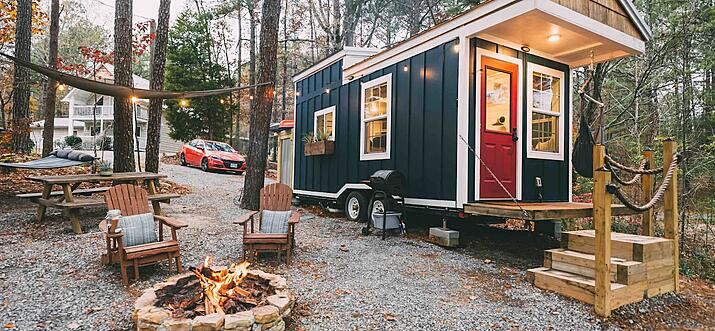 tiny house for rent in alabama