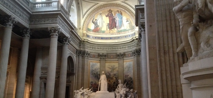 Visit With France's Greatest Minds In A Nice Setting At The Pantheon