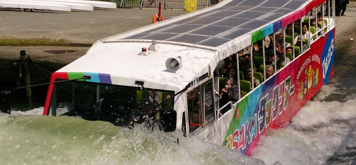 """To Go Deep in Kansai, Visit Osaka and Experience the Amphibious """"Duck Tour"""""""