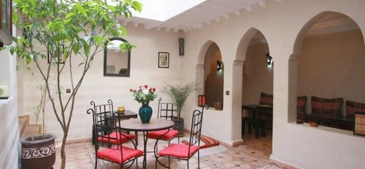 airbnb Marrakech Riad, Morocco