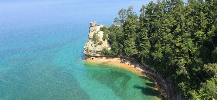 Miners Castle: Breathtaking Views of Pictured Rocks National Lakeshore