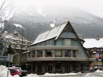 Whistler Visitors Center located in the Village
