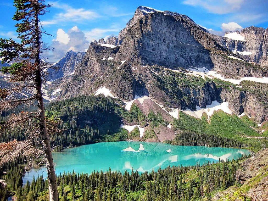 Glacier National Park, Montana: Beautiful Glaciers And Backcountry ...