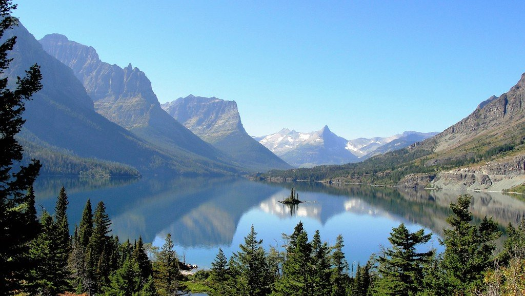Glacier National Park Montana Beautiful Glaciers And