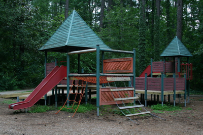Indian Trail Park beginners playground