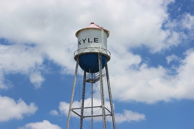 Kyle Texas Water Tower