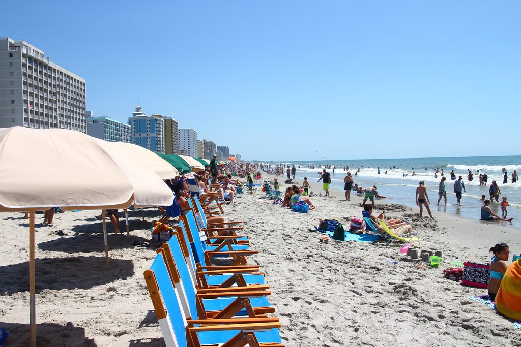 Enjoy The Sand Sea And Surf At Myrtle Beach