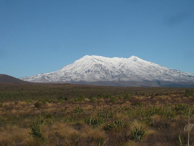Mount Ruapehu Autumn