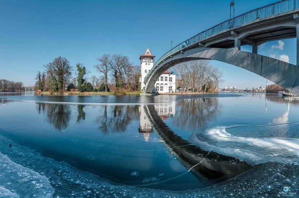 romantic places in berlin | insel der jugend