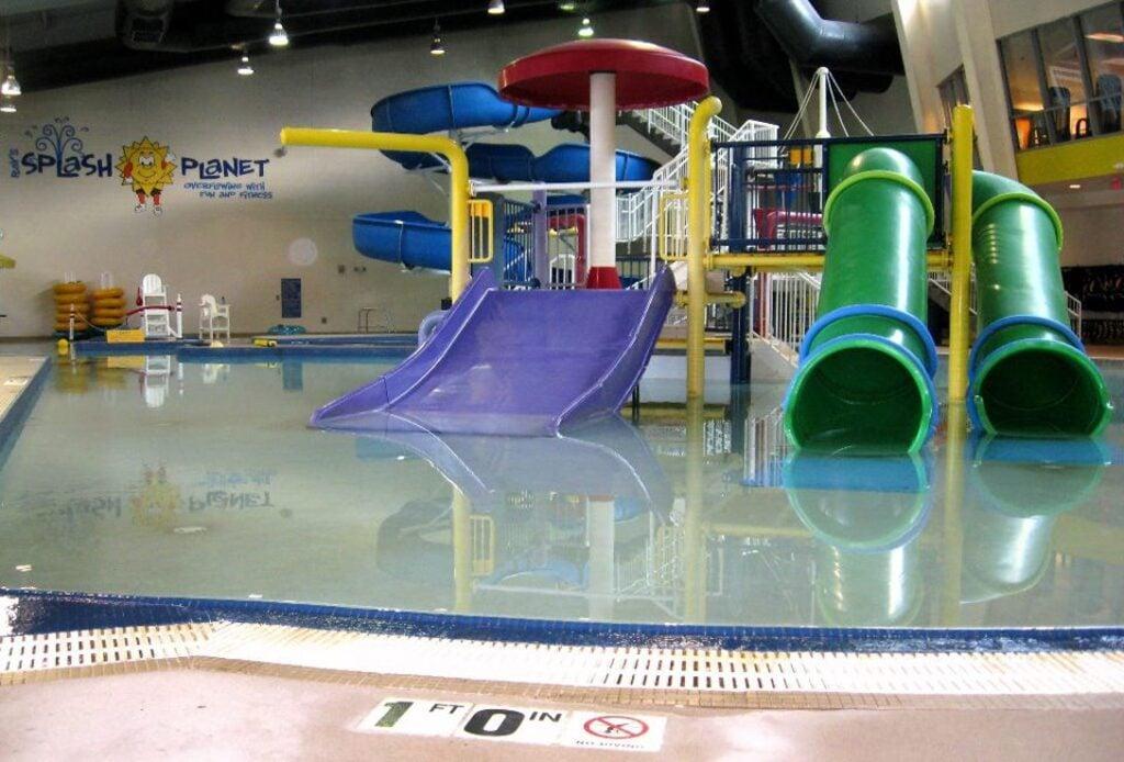 Parco acquatico e scivoli Ray's Splash Planet